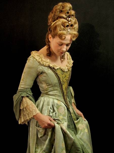 1700s Hairstyles Female American