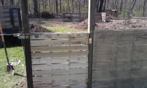 Pallet Fence And Gate Home Sweet