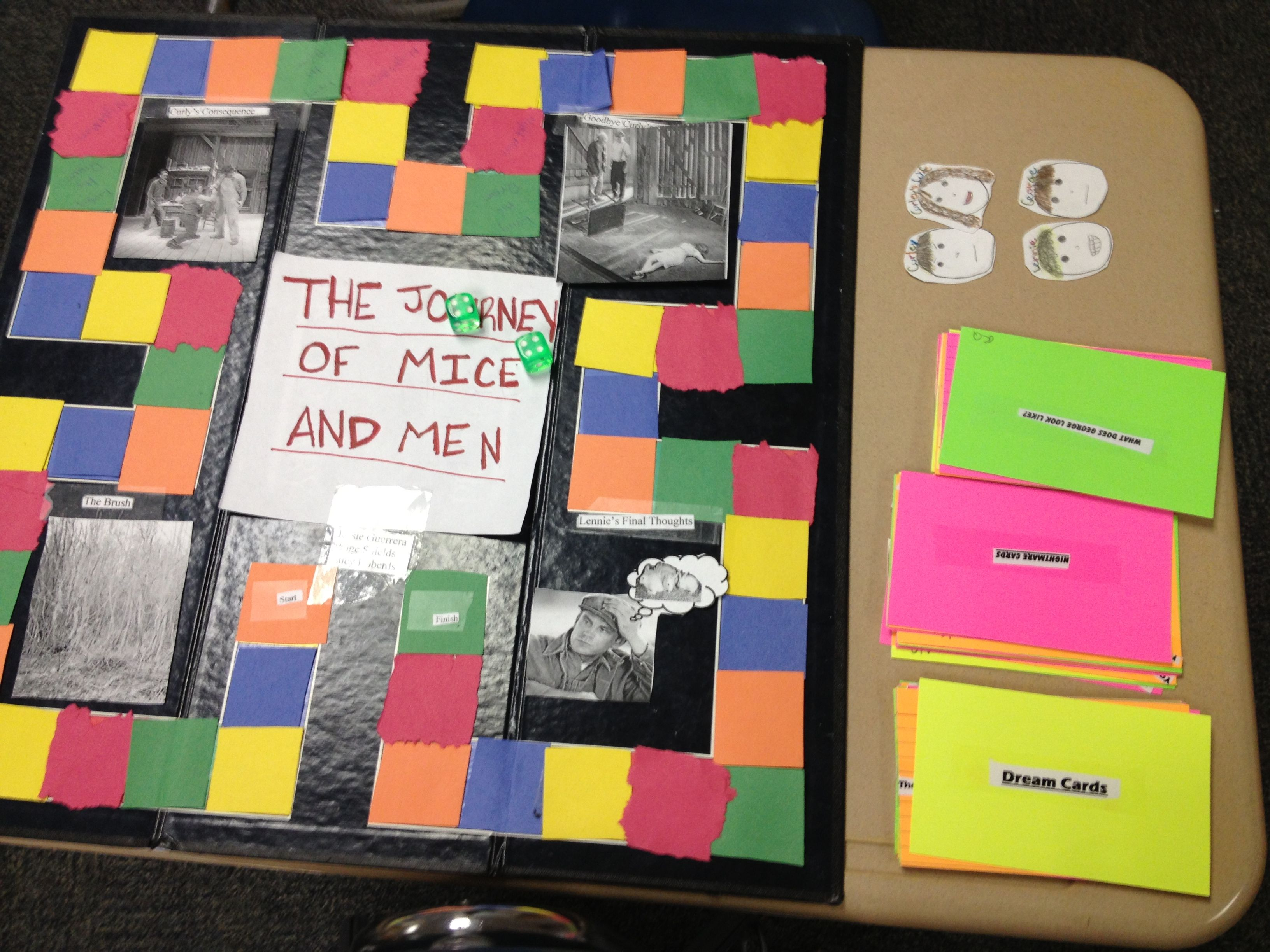 Board Game Project Students Create A Board Game Players