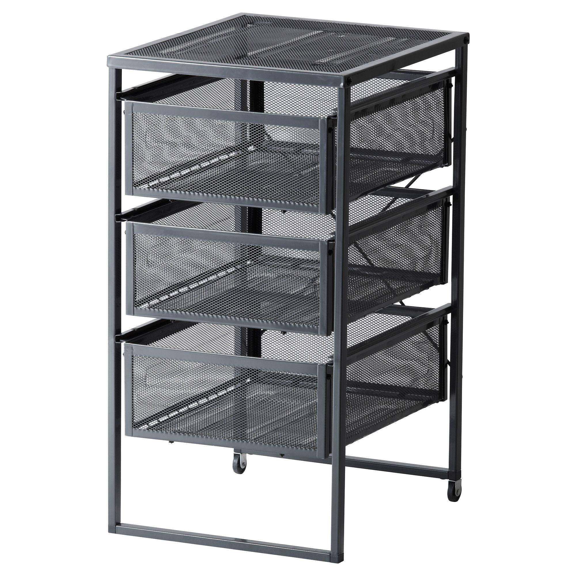 kitchen drawer organizer ikea storage baskets lennart unit repurpose for under cabinet