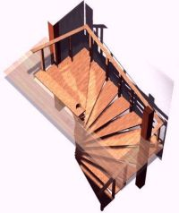 Spiral stair plans. Spiral stairs crafted in wood How To ...
