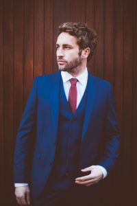 Navy Blue Suit Red Tie | www.imgkid.com - The Image Kid ...