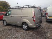 Ford Transit modular roof rack and rear door ladder | Cyal ...