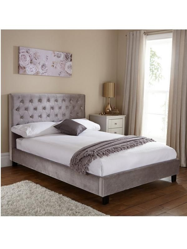 Livia Bed Frame With Optional Mattress Very Co Uk