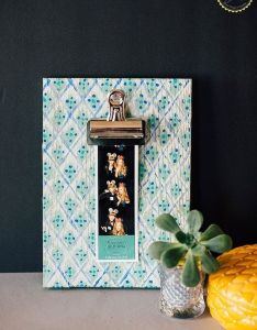 Craft paint also diy boho clipboard frame crafts clipboards and upcycling rh pinterest