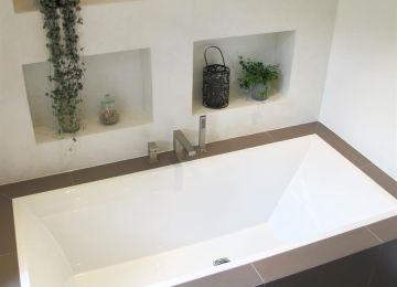 Niche Murale Dans Salle De Bain Et Mosaique | Comment Poser De La ...