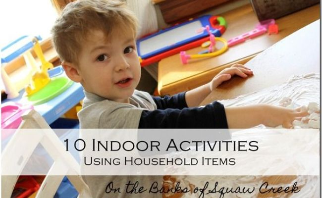 10 Activities Using Household Items Going To Need These