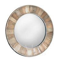 Wooden Round Mirror | Coastal mirrors | Pinterest | Round ...