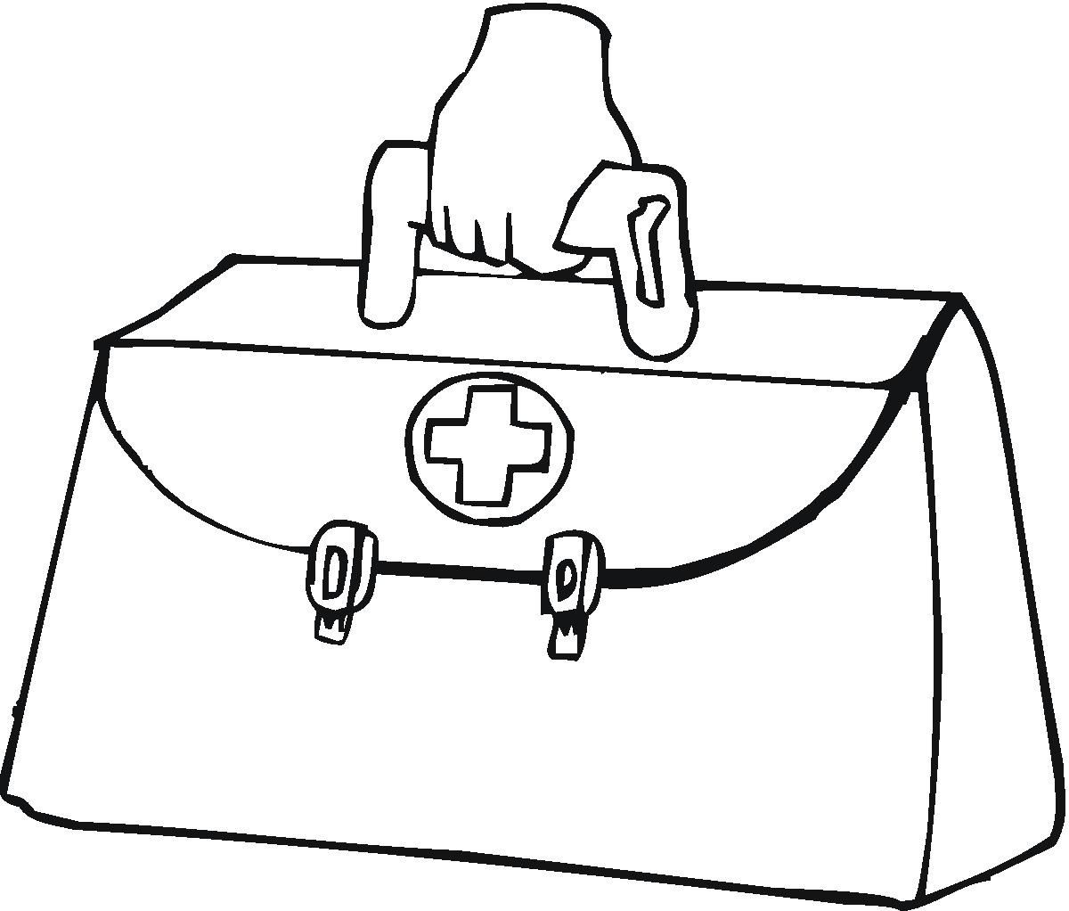 Doctor Tools Coloring Pages Printable