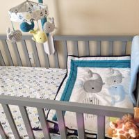 Circo 4pc Crib Bedding Set - Whales 'n Waves | Nursery ...
