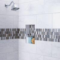 Shop American Olean Mooreland Carrara White Ceramic Indoor ...