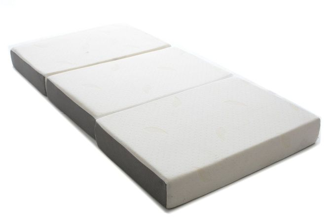 Milliard 6 Inch Memory Foam Tri Fold Mattress With Ultra