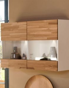 Arte  feel solid oak and white or grey door contemporary wall cabinet also rh pinterest