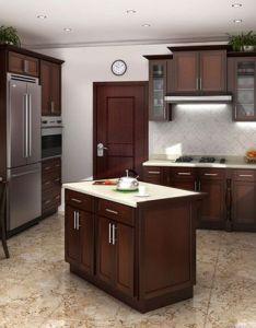 Cognac shaker kitchen cabinets rta cabinet designs photos kerala home design and floor also alt   for refacing kitchens pinterest rh