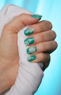hand-painted nail art | Nail Art by Monika Zbijowska ...