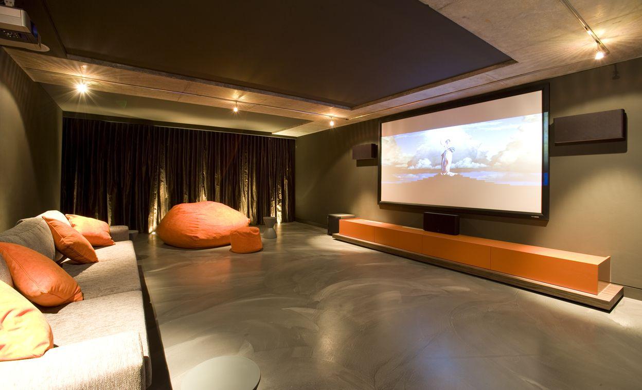 Movie Theater Room Decor Media Movie Theater Rooms Pinterest