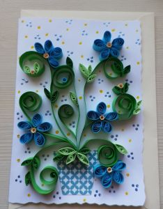 Realisation perso quilling also card designs pinterest rh in