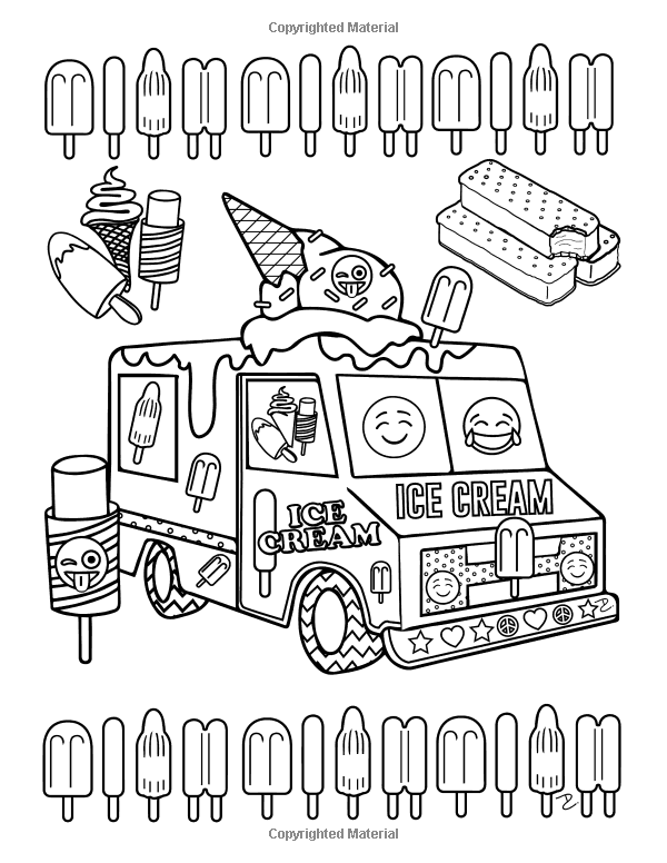 All Emojis Coloring Pages Sketch Coloring Page