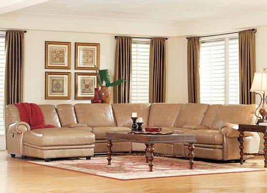 Without Chaise Bentley Havertys Sectional