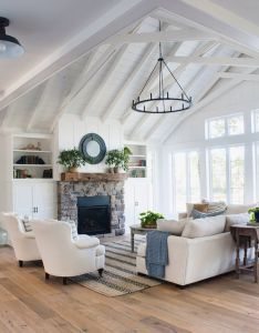 stunning lamps for living room also gray cabinets planked walls rh pinterest