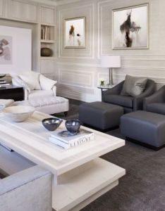 Before after  forgettable family room gets sophisticated second chance also rh pinterest