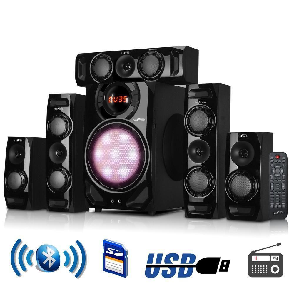 Befree sound channel surround bluetooth speaker system in black also rh za pinterest