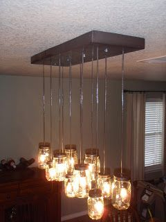 Diy This Pottery Barn Knock Off Mason Jar Chandelier Instructions From An Adams Thing