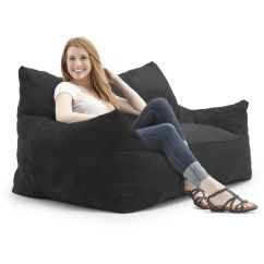 Two Person Bean Bag Chair Gold Throne Relax In The Comfortable Fufsack Imperial Memory Foam