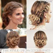 hair - maria menounos' grecian
