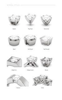 diamond setting types - Google Search   Ring   Pinterest ...