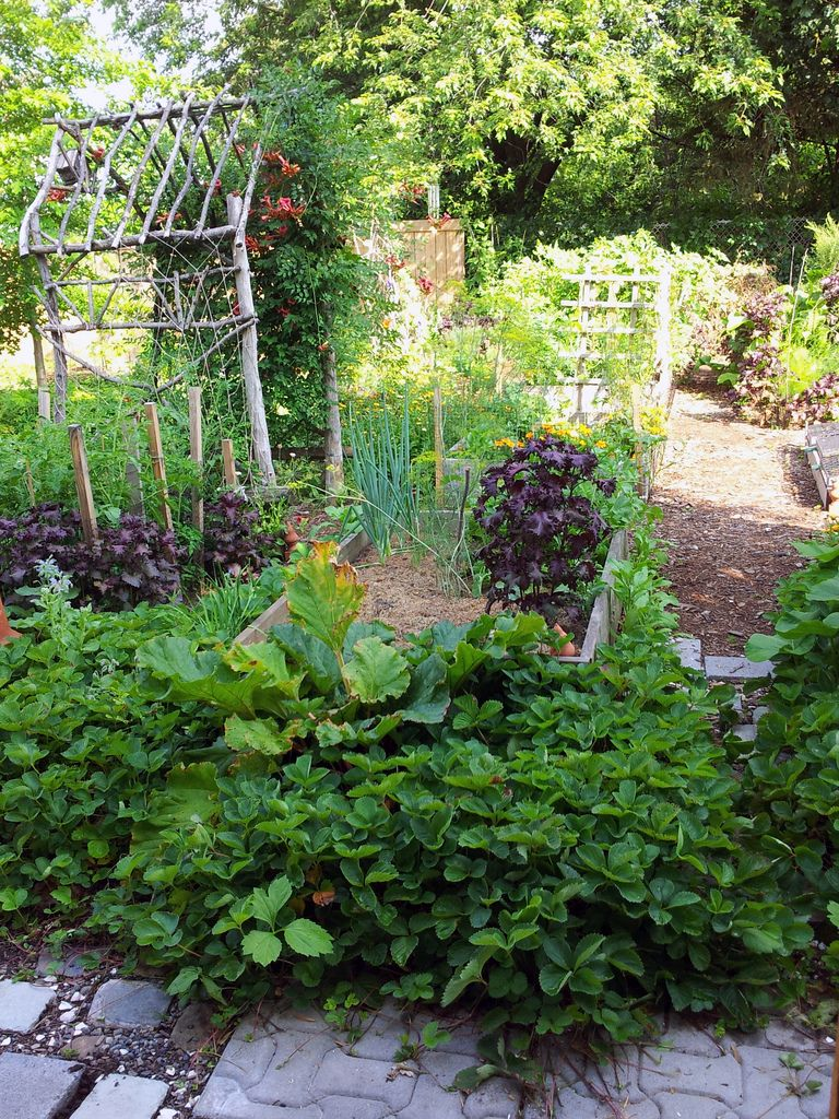 10 Potager Designs  Edible Landscaping Design Inspiration