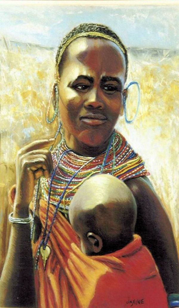 African Woman - Find Unusual Baby