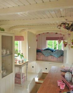 This is rv interior ideas that will make you happy camper do love to go camping plan on taking the for  spin summer also so adorable vintage campers pinterest tiny houses rh
