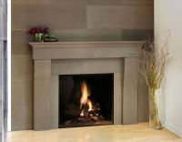 Contemporary Wood Fireplace Surrounds | fireplace ...