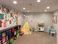 PLAY ROOM- boy and girl playroom idea- theme- alphabet ...