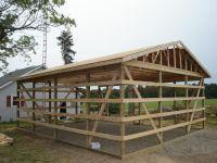 24X30 Pole Barn Design   Farm   Pinterest   Pole barn ...