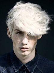 platinum blonde men hairstyle 2013