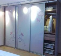 Sliding Closet Doors, Different colour/design on the ...
