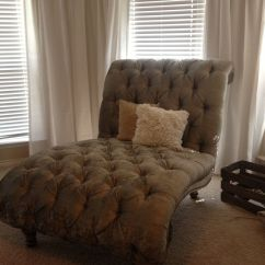 Master Bedroom Lounge Chair Parson Chairs Walmart Tufted Double Chaise In Our