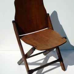 Antique Folding Chair Adirondack Style Garden Chairs Furniture