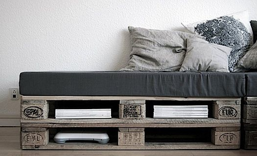How To Make A Pallet Couch Minimalist Shipping Pallet Daybeds