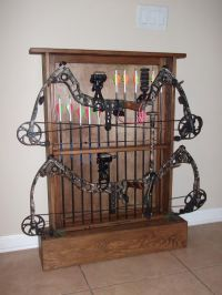 Wooden How To Make A Bow Rack PDF Plans