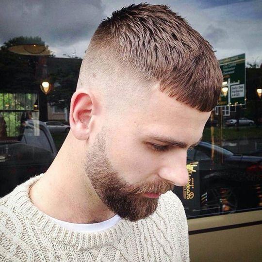 Mens Hair In General French Crop Haircut Pinterest