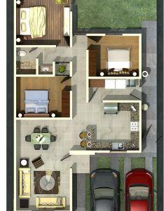 Me gusta este plano pero creo que entre la primera recamara de izquierda  house plans also rh pinterest