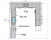 kitchen floor plans   Kitchen floorplans 0f Kitchen ...
