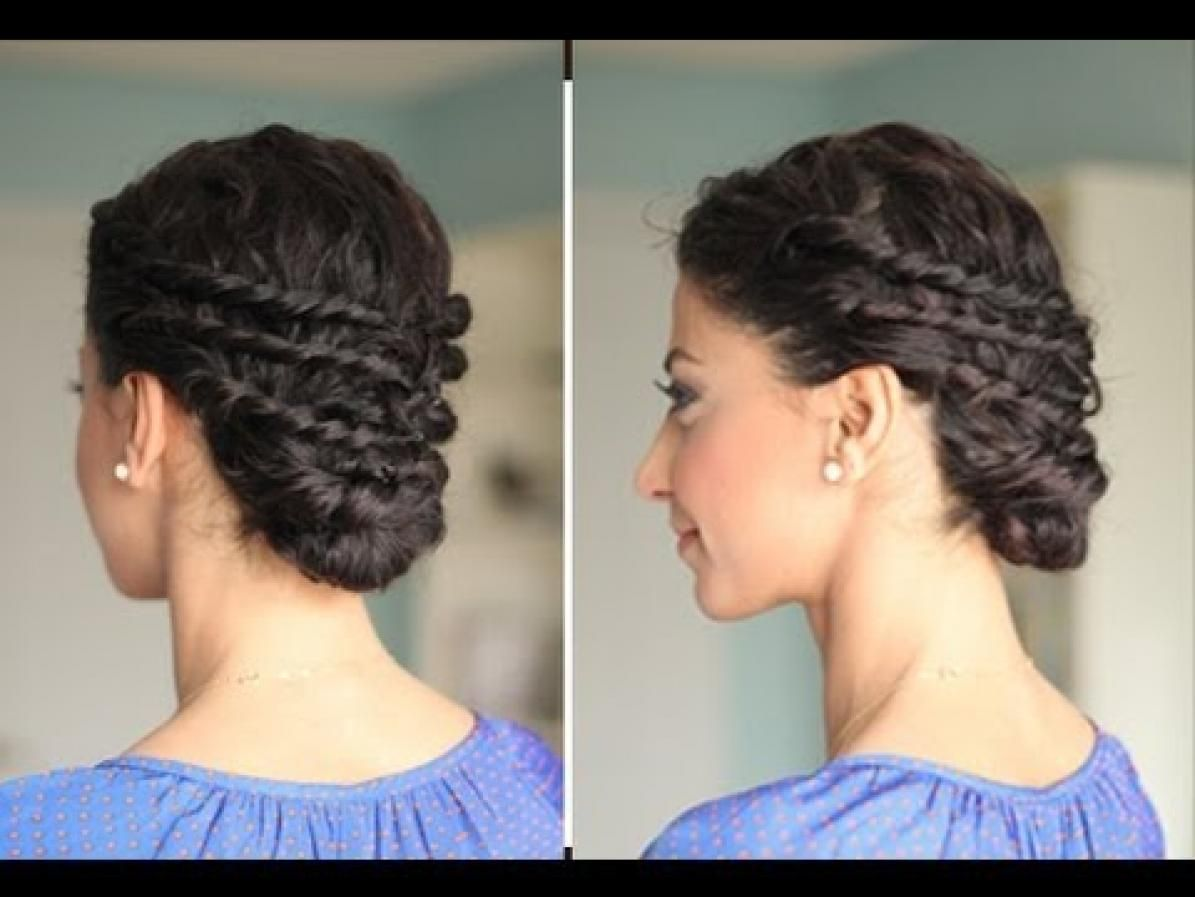 22 Totally Pretty 10 Minute Hairstyles For Curly Hair Hair