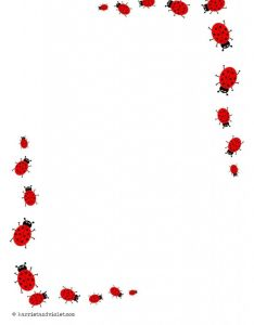 Katicas also border hojas marcos bordes pinterest search and ladybugs rh