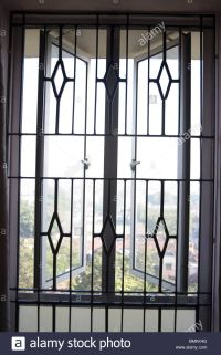 Window Grill & Security Iron Window Grill PanelsMetal ...
