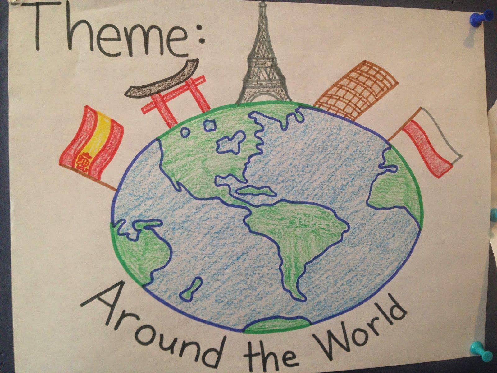 Around The World Pre K And Preschool Theme Keep Calm And