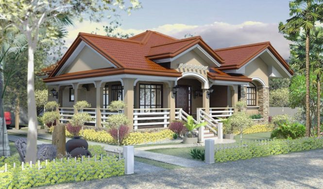 simple house design bungalow type : brightchat.co